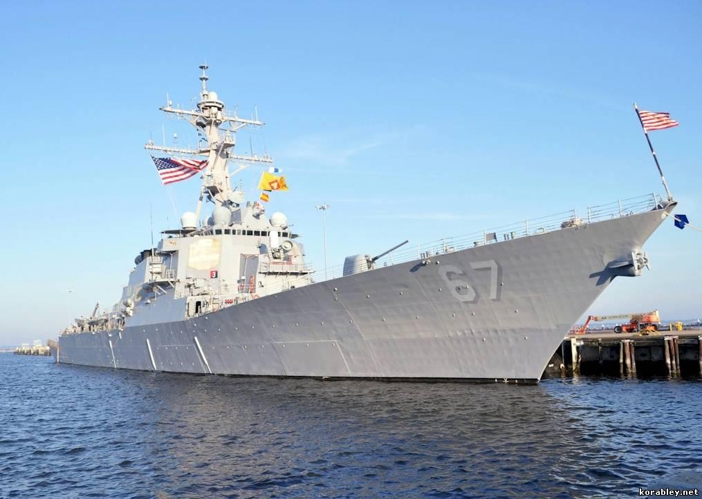 США, Россия, Черное море, ракетный эсминец, политика