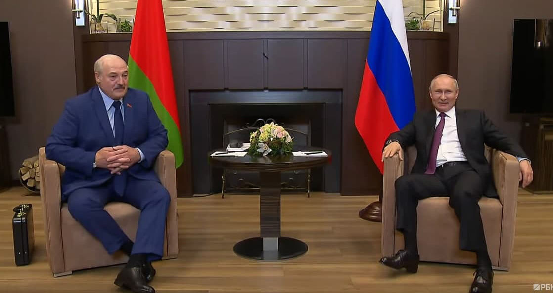 """Трансляцию встречи Путина с Лукашенко резко прервали после слов о большевиках: """"Что тут обсуждать?"""""""