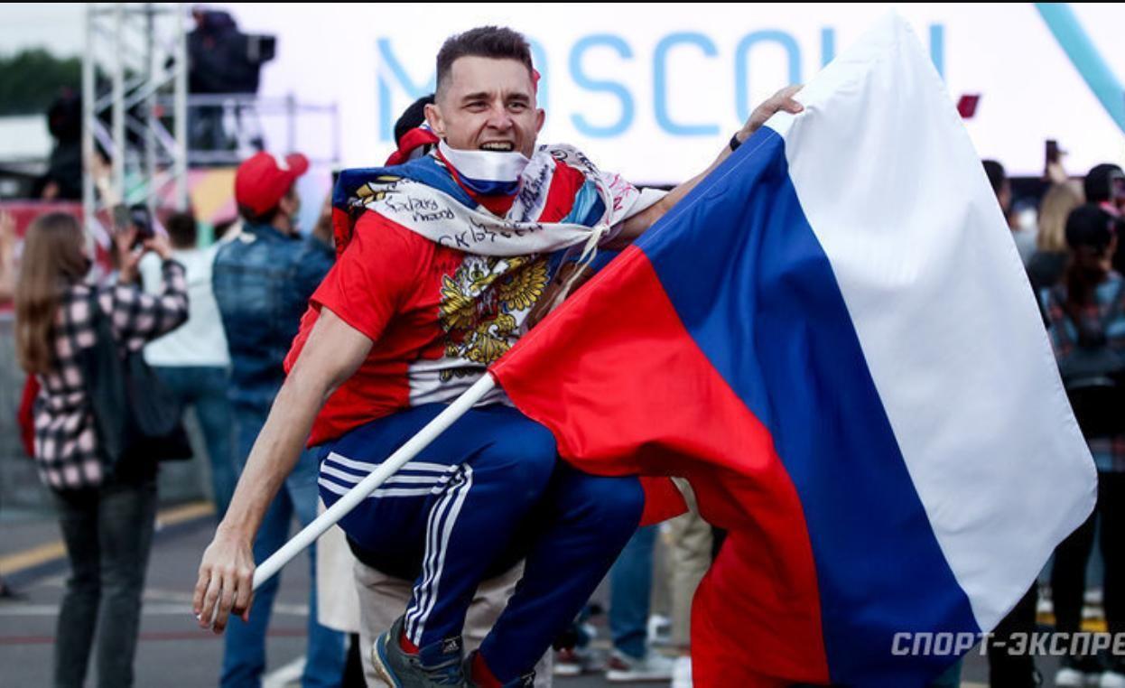 Появилась неожидання реакция россиян в Санкт-Петербурге на гол Украины голландцам: видео из фан-зоны