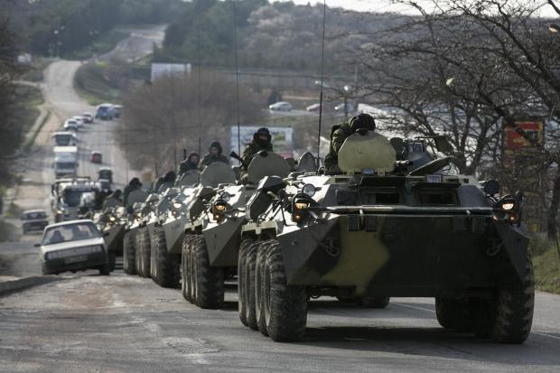 Журналист: На Лисичанск движется колонна военной техники РФ