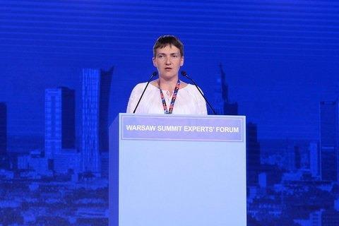 Надежда Савченко определила дату окончания войны в Донбассе