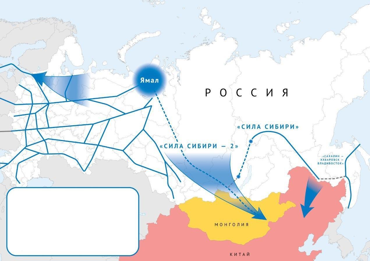 """Россия приняла решение строить """"Силу Сибири-2"""" через Монголию: на старте проекта уже 2 крупных проблемы"""