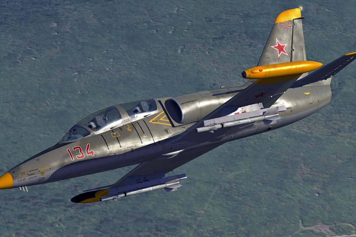 В Идлибе Турция ударом из ПЗРК сбила самолет войск Асада L-39 - крушение попало на видео