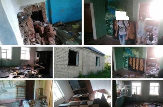 """Наверное """"украинская ДРГ"""" постаралась: жители Енакиево показали, каким стал их оставленный на год дом"""