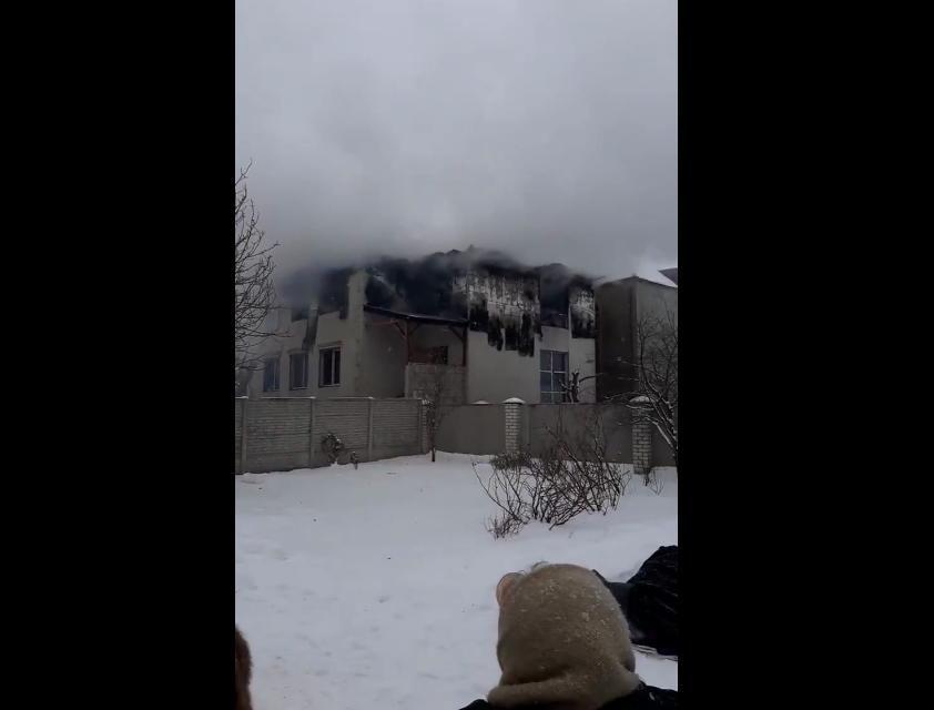 В Харькове в доме престарелых пожар – погибли 15 человек: второй этаж дома полностью выгорел