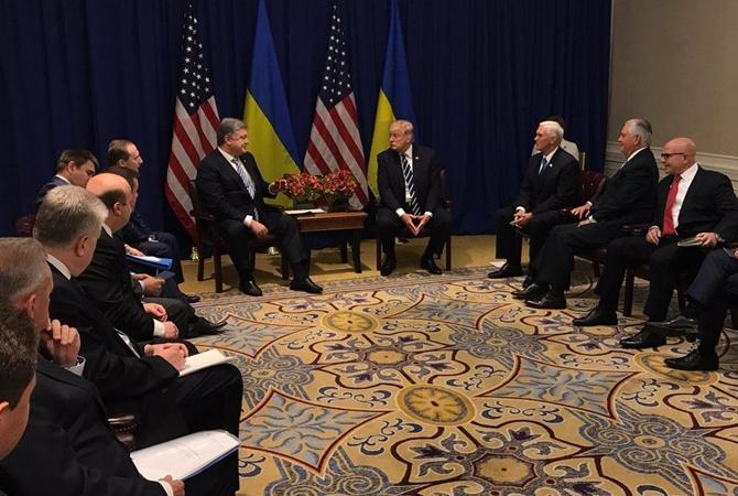Стартовала встреча Порошенко и Трампа в Нью-Йорке – кадры