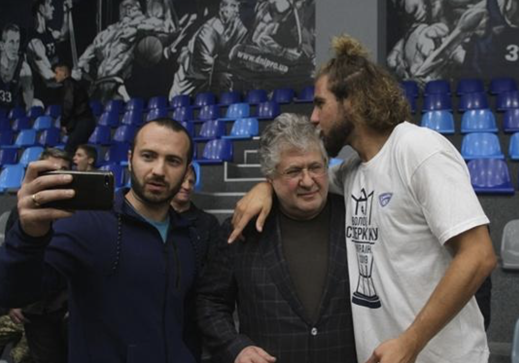 бк Днепр, коломойский, сын Коломойского, Новости Украины, баскетбол, суперкубок Украины, нба, санон, шустер скандал