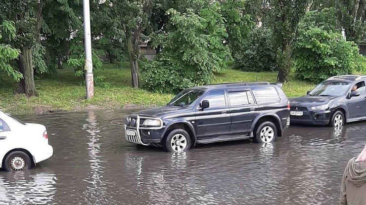 киев, погода, ливень, дождь, киев онлайн, новости киева, киев сегодня, происшествия, видео