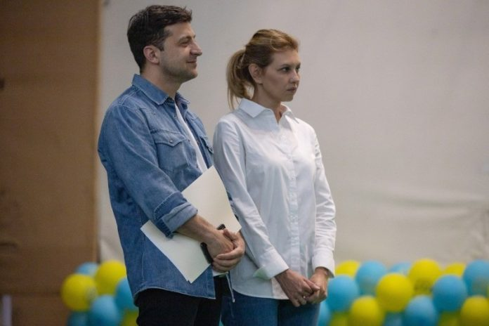 Украина, политика, зеленский, президент, елена, супруга, мероприятие, фото