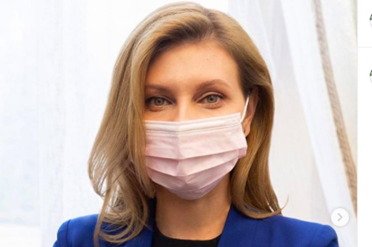 Елена Зеленская ответила на слухи, что ее COVID-19 был пиаром