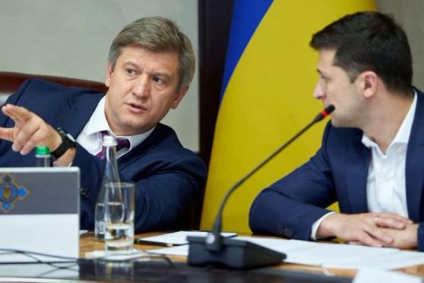 данилюк, зеленский, сазонов, совбез, приватбанк, украина, скандал