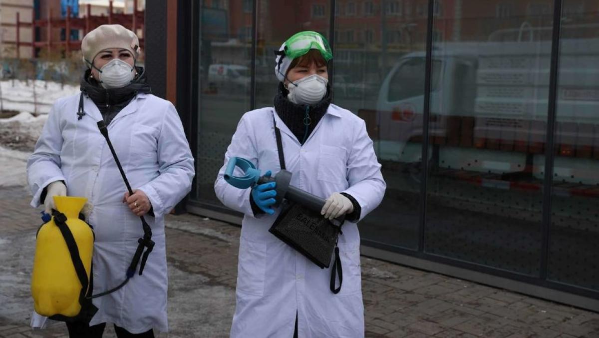 Коронавирус в Казахстане: вспышка в доме престарелых и общее число зараженных на 9 апреля