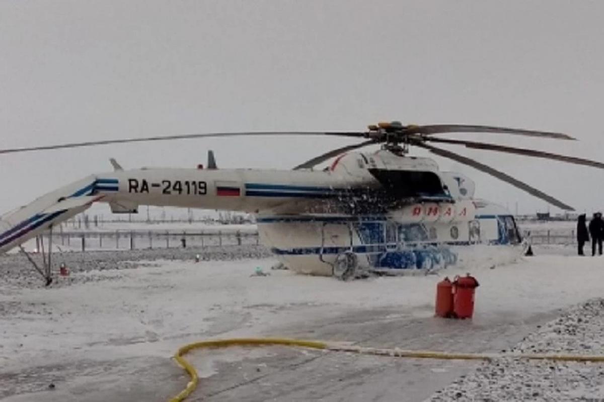 """В России потерпел катастрофу вертолет """"МИ-8"""" с нефтяниками на борту - много погибших и раненых"""