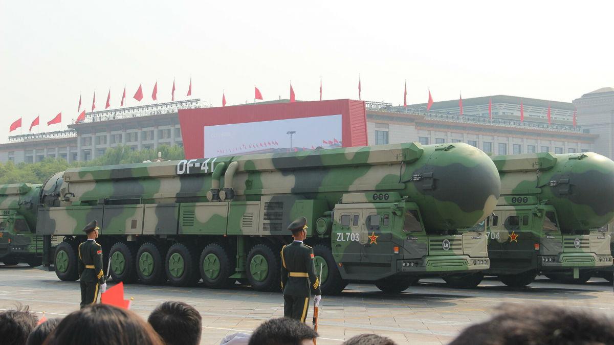 В Китае заговорили о нанесении ядерного удара по США из-за AUKUS