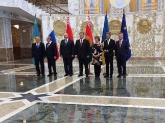 Александр Лукашенко: На переговорах в Минске все сходились на необходимости деэскалации кризиса в Донбассе
