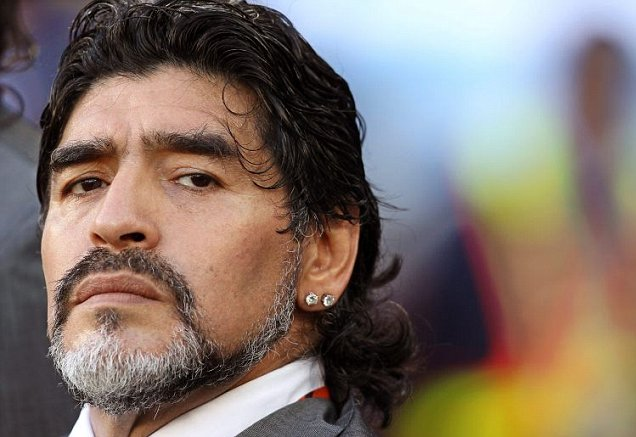 Возглавить ФИФА изъявил желание футболист Диего Марадона