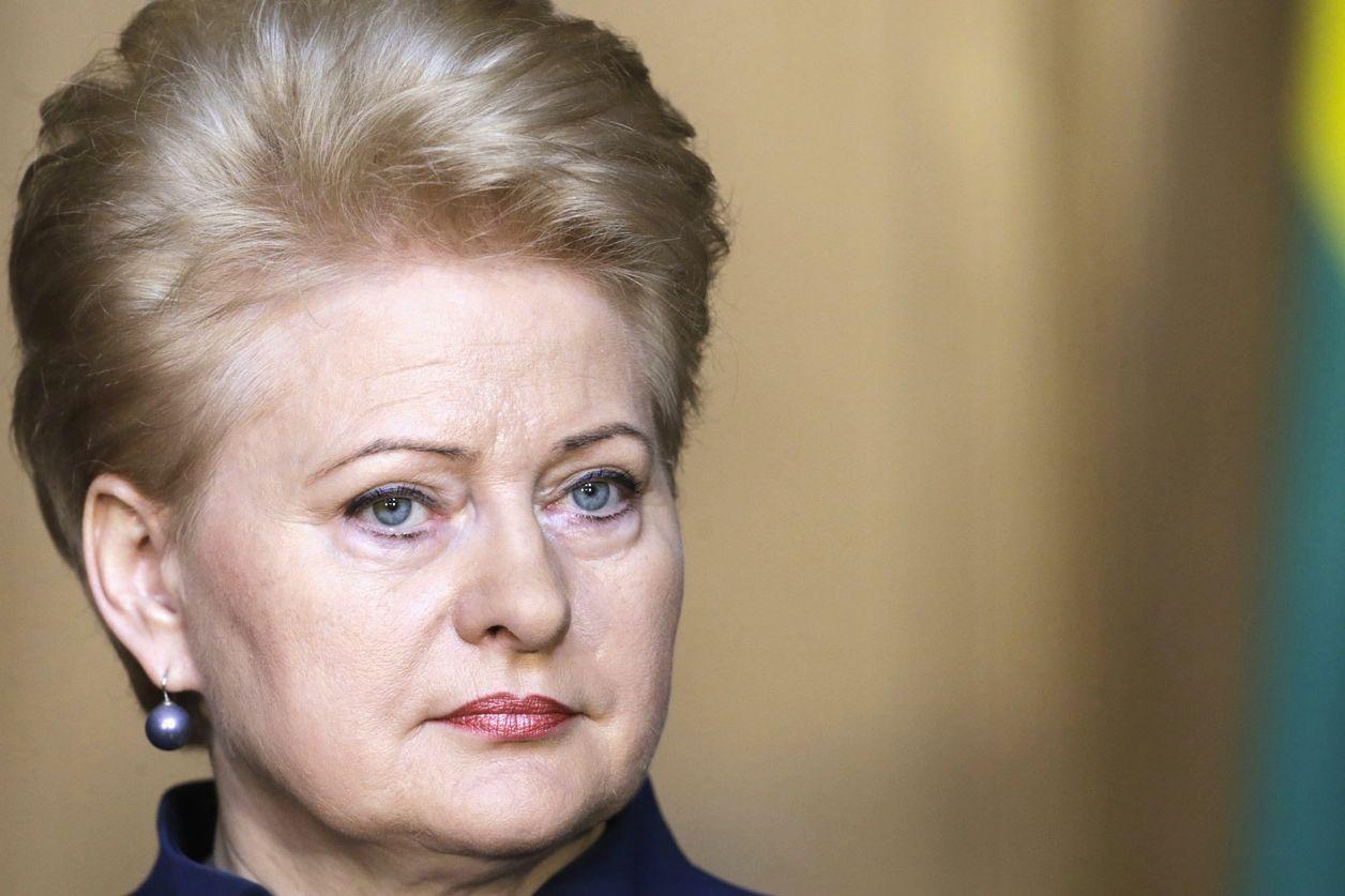 """Даля Грибаускайте предупредила Украину: """"Путин вам мстит"""""""