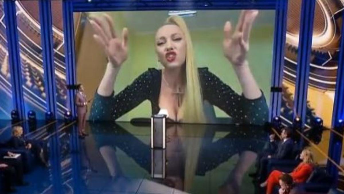 Оля Полякова в прямом эфире закатила скандал главсанврачу Виктору Ляшко