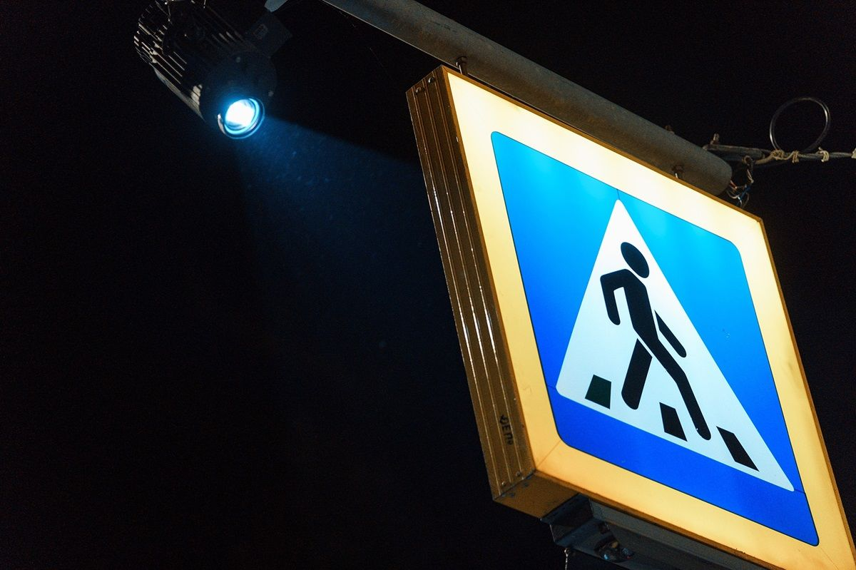 Для повышения безопасности движения: в Виннице тестируют первый в стране инновационный пешеходный переход