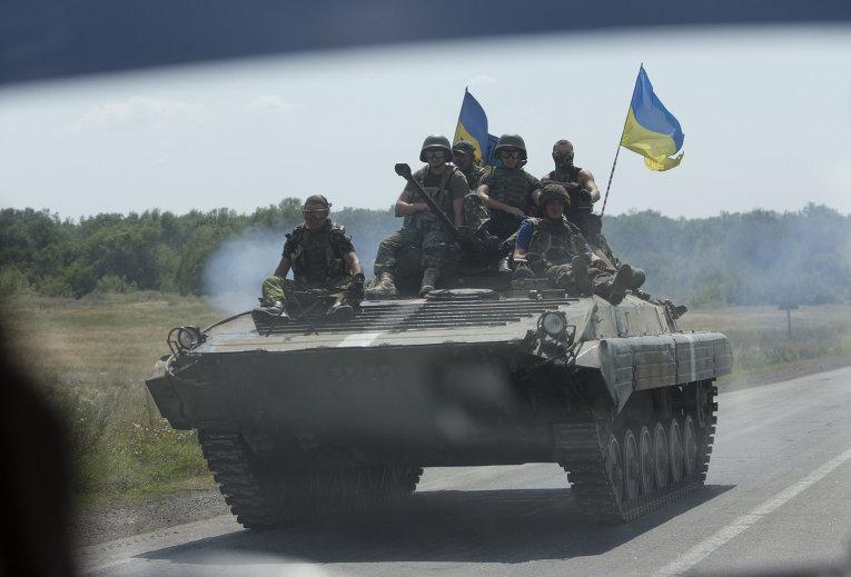 АТЦ заявил об уничтожении «Градов», танков и БМД ополченцев