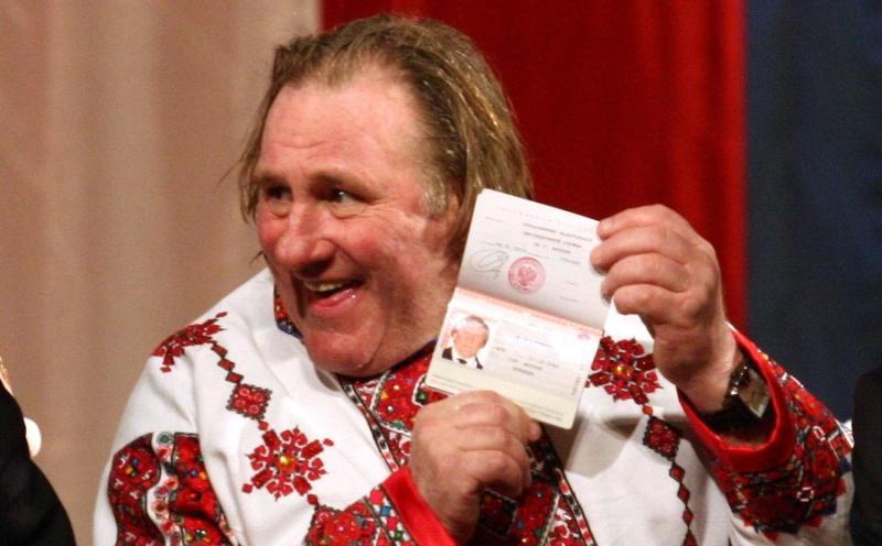 Депардье: Если я соскучусь по жизни в России, могу пару дней пожить в сарае