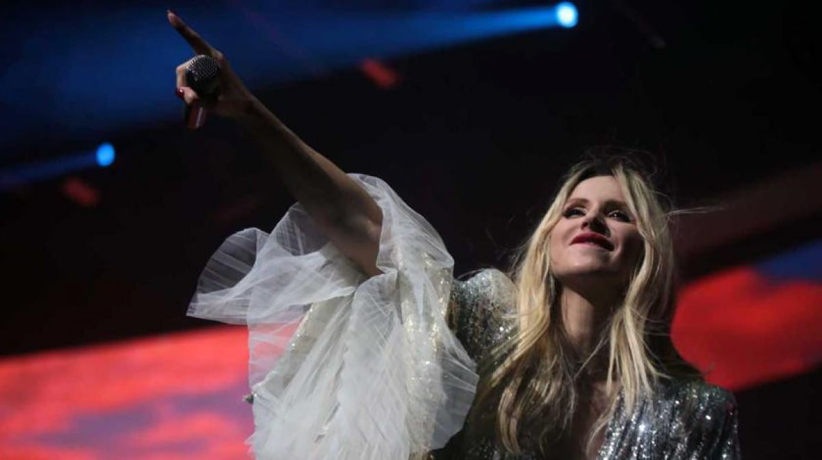 Светлана Лобода, закидывала ноги, пьяная на сцене, опозорилась на концерте