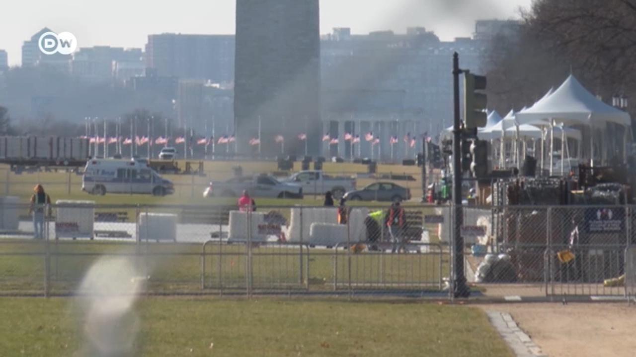 Готовятся к войне: СМИ узнали, как спецслужбы блокируют Вашингтон перед инаугурацией Байдена