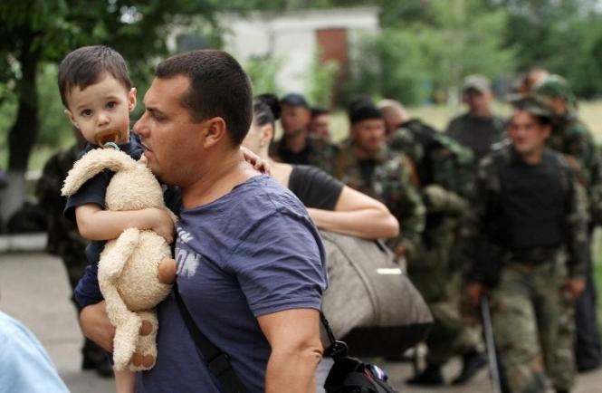 В Запорожскую область прибыло рекордное количество переселенцев из зоны АТО