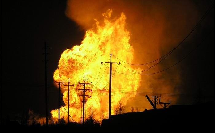 взрыв, пожар, газ, Одесса, спасатели