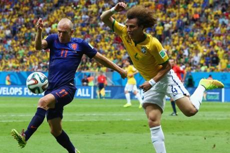 Бразилия - Голландия - 0:3. Видео голов и обзор матча
