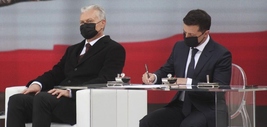 Польша, Украина и страны Балтии подписали Декларацию о европейской перспективе – кадры обошли Сеть