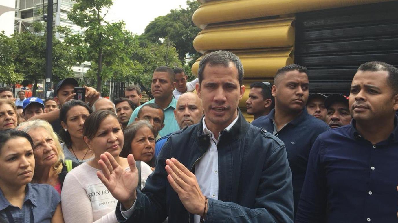 Венесуэла на пороге катастрофы - Гуайдо призывает к решительным действиям против диктатора Мадуро