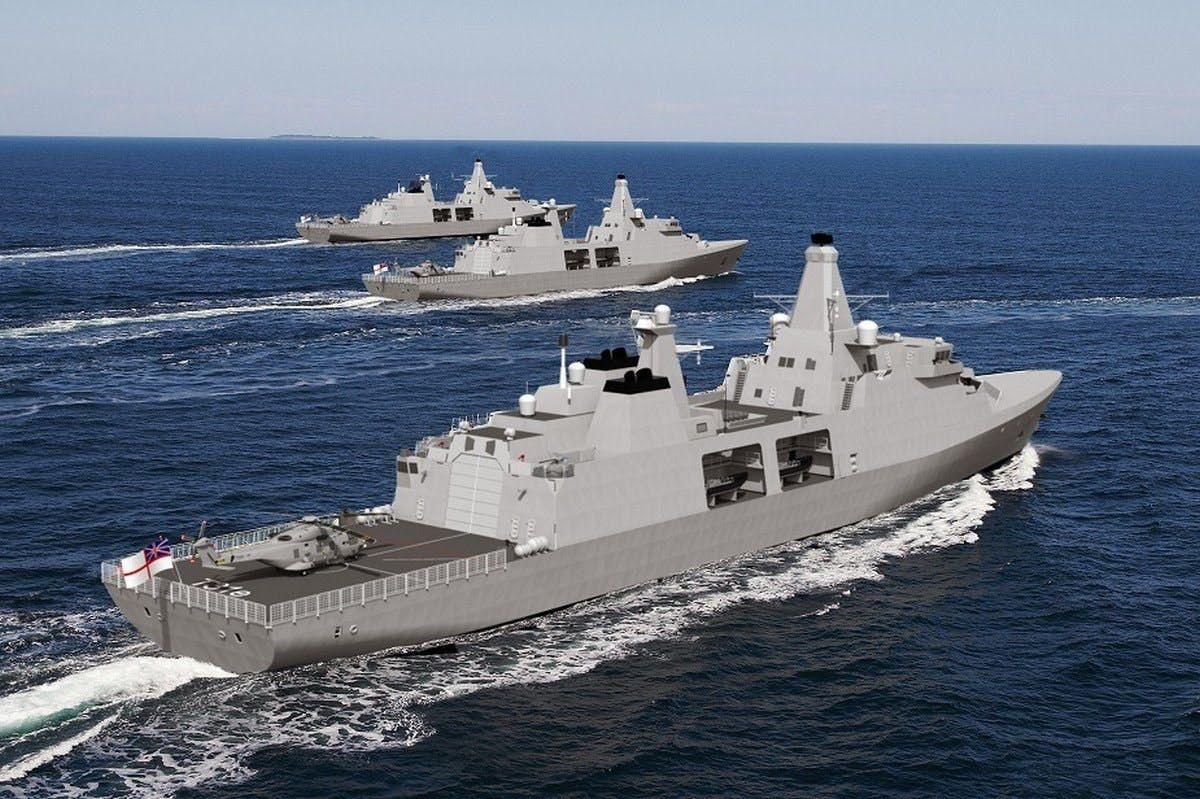 В Великобритании приступили к строительству головного фрегата типа 31