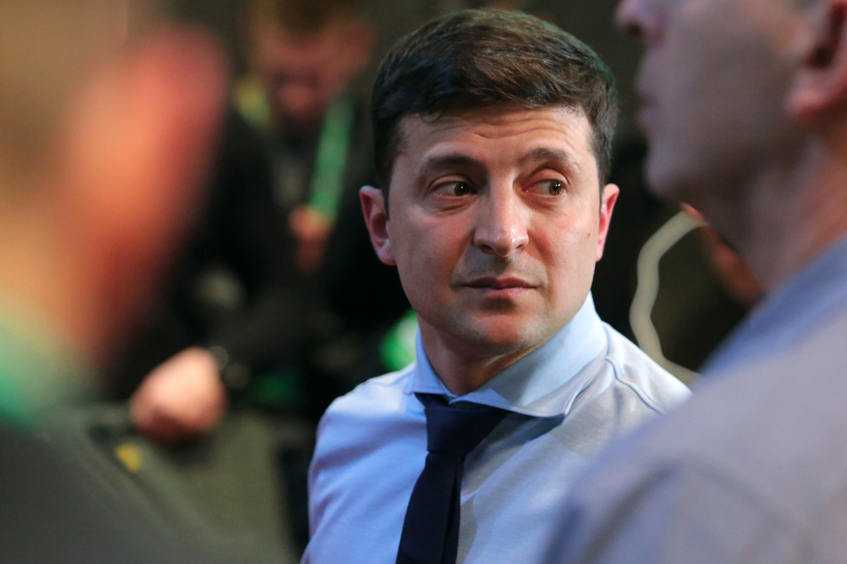 зеленский, голобуцкий, украина, рейтинг, политика
