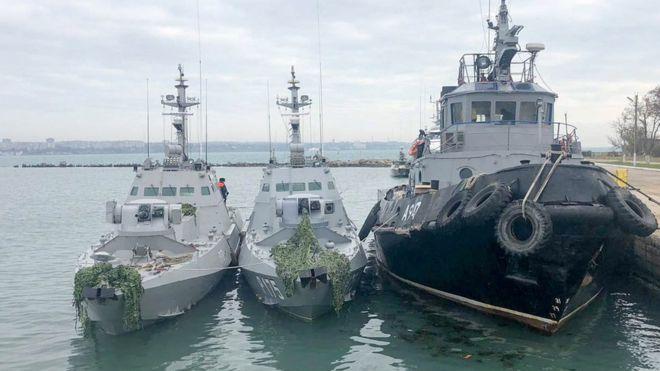 Пристайко рассказал, когда Россия вернет Украине захваченные боевые корабли