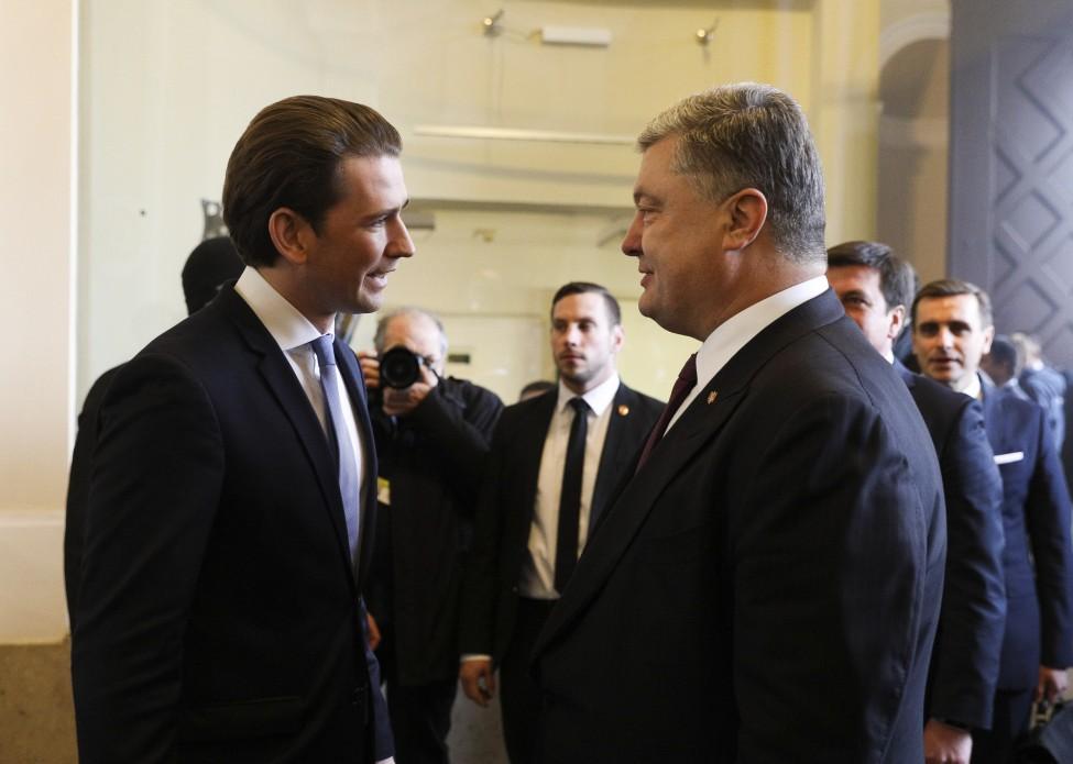 Президент пригласил австрийских инвесторов управлять газотранспортной системой Украины