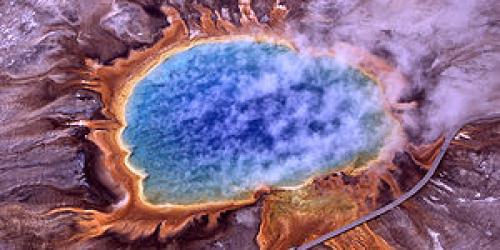 Вулкан, природа, происшествие, США, парк, Хэнк Хесслер