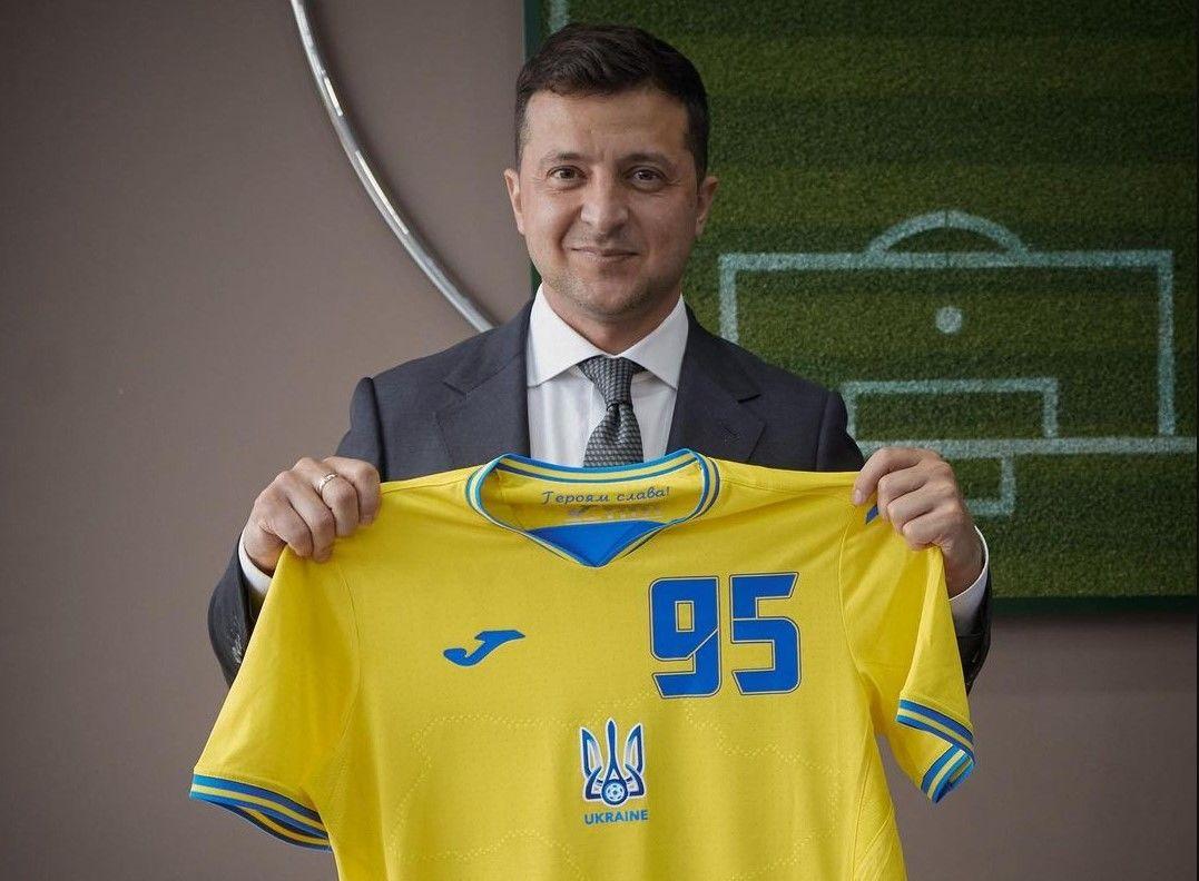 Зеленский обратился к сборной Украины после игры с Нидерландами