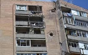 Крымское всю ночь обстреливали «Градами». В Счастье снаряд попал в многоэтажку, - Москаль