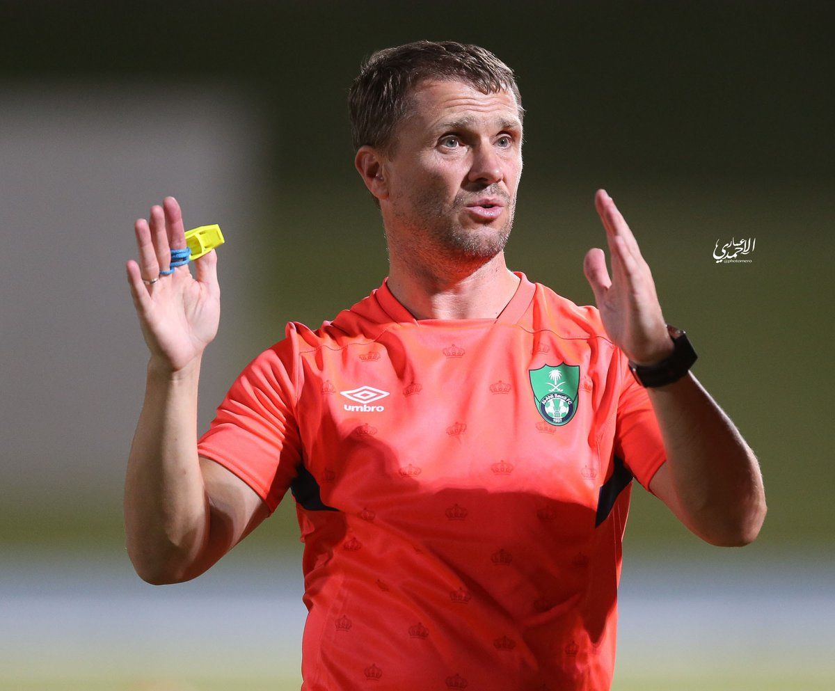 Ребров может уйти из арабского клуба, дабы возглавить сборную Украину
