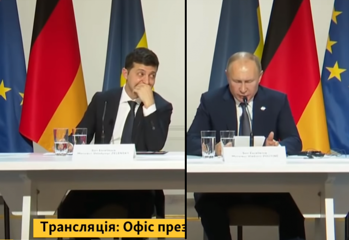 Россия, Украина, рф, Зеленский, Путин, Нормандский формат, переговоры