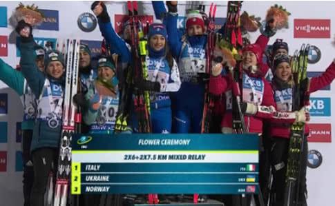 Спортивный триумф Украины: биатлонисты добыли серебро на этапе Кубка Мира в Финляндии