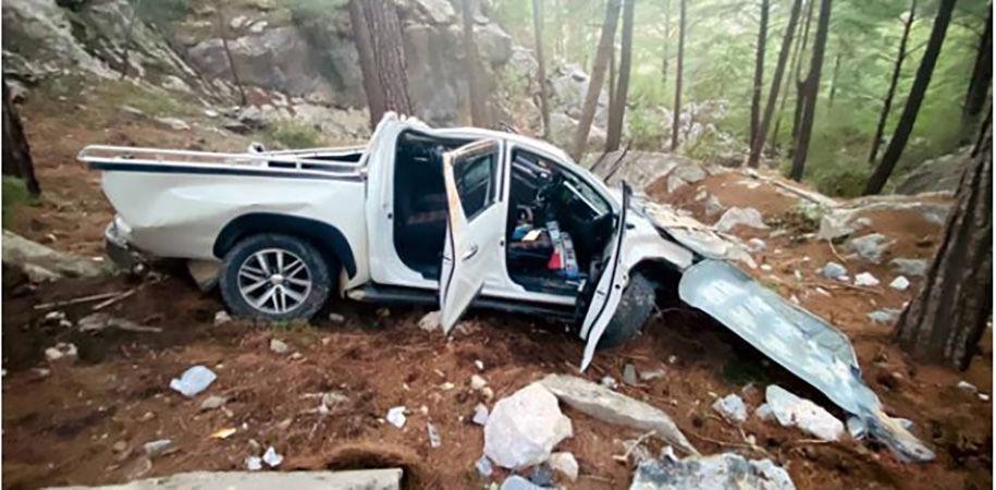 В Турции авто сорвалось в 50-метровый обрыв: серьезно пострадали туристки из Украины