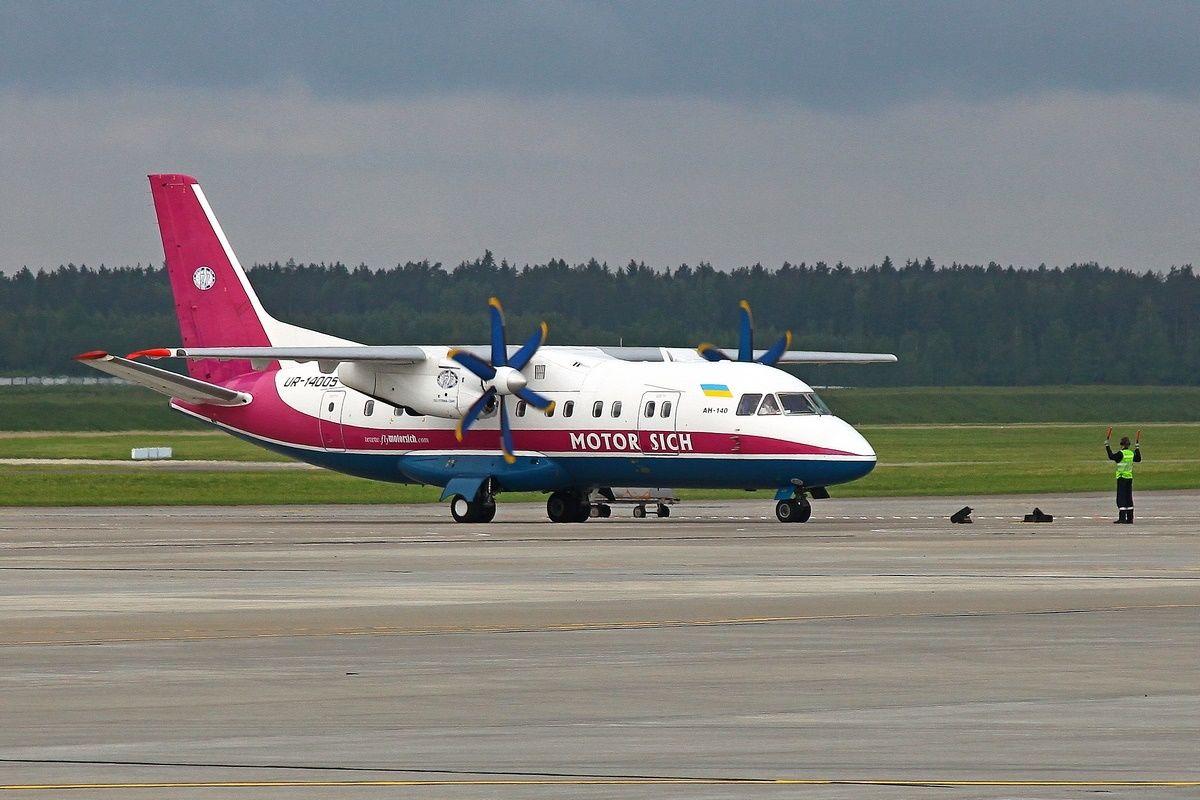 Контракт Укроборонпрома и Мотор Сич на продажу двух Ан-140 может быть подписан уже на следующей неделе