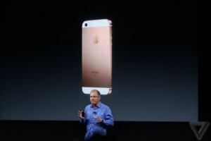 Компания Apple презентовала iPhone SE: детали и характеристики смартфона