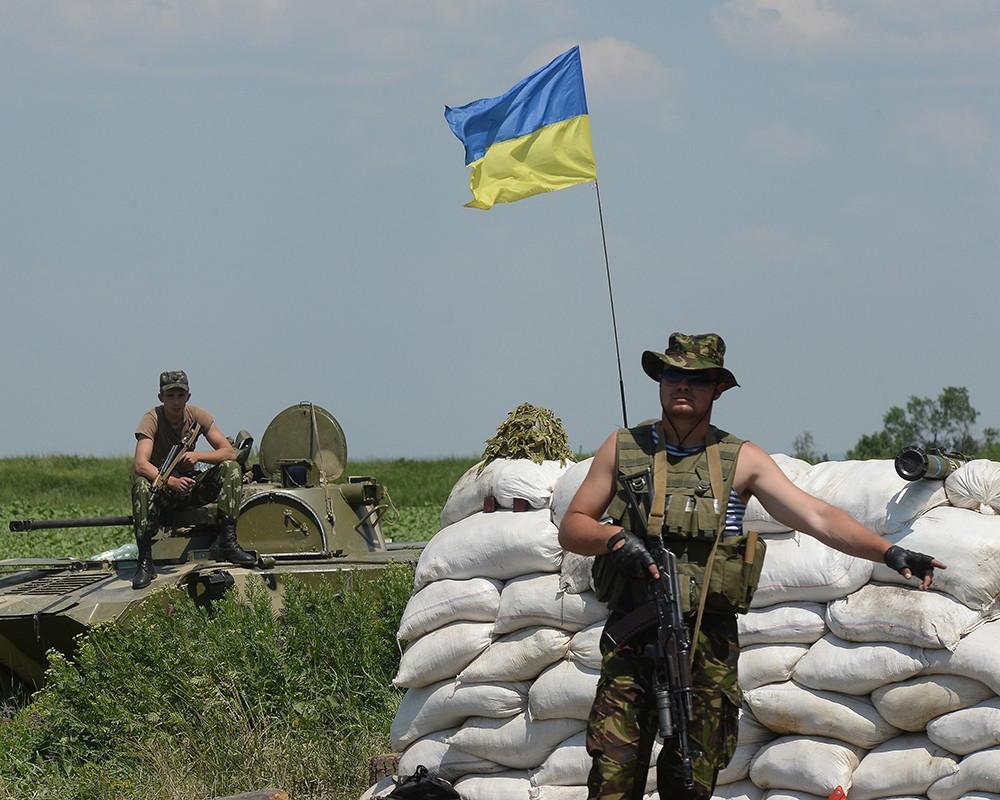 СНБО: Украинская авиация нанесла удары по ополченцам под Макеевкой
