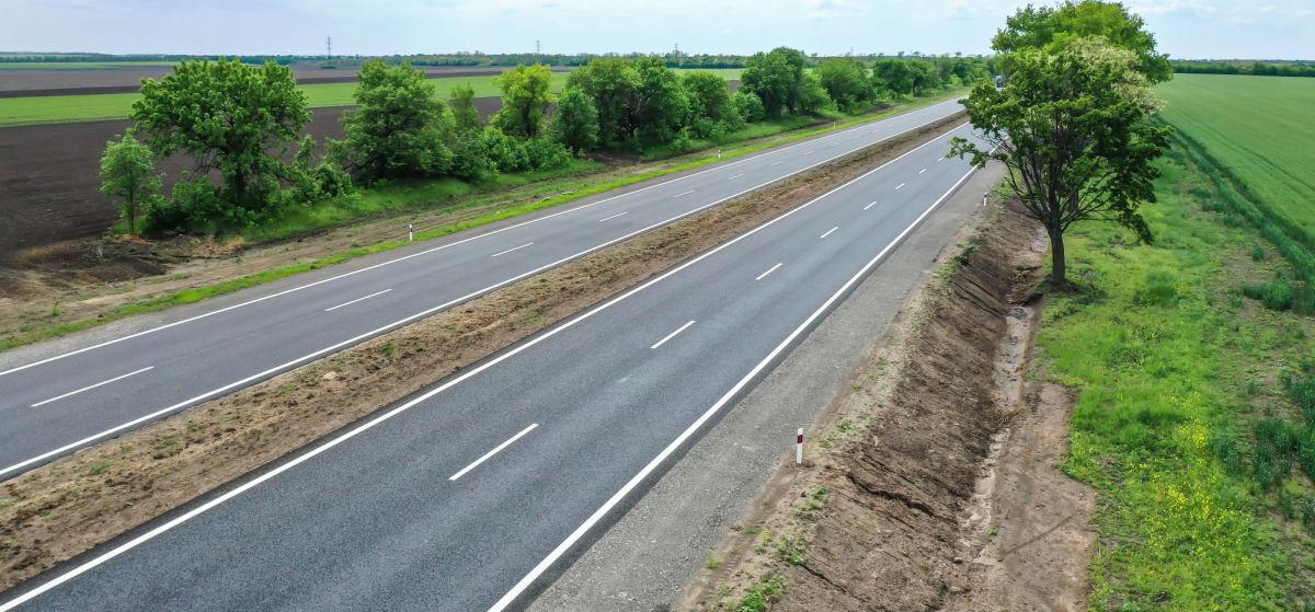 Трасса Днепр – Кривой Рог спустя год после строительства: фото обошли Сеть