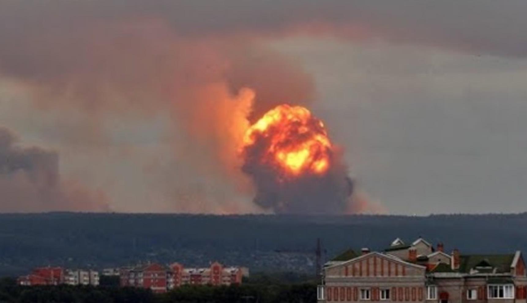"""""""Множество осколочных ранений"""", - под Москвой в воинской части прогремел мощный взрыв, есть раненые"""