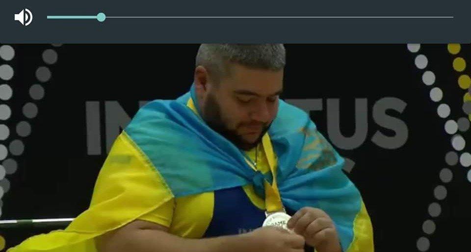 Серебряный призер Invictus Games Евгений Олексенко мощно обратился к побратимам и всем украинцам – кадры