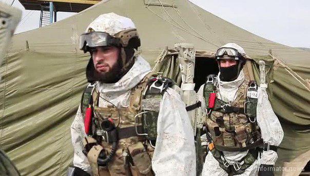 Кадыров направил своих солдат на Северный полюс